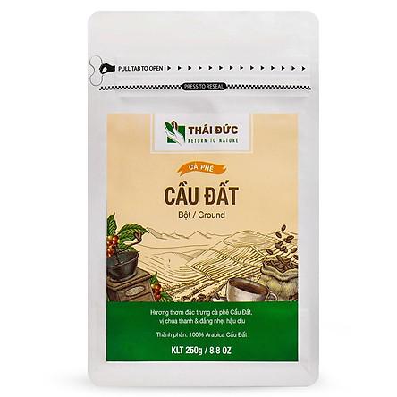 Thái Đức Coffee - Dòng Cafe Cầu Đất Bột 250g - Cafe sạch nguyên chất 100%