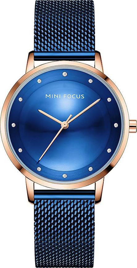 MINI FOCUS Women Quartz Watch Classic Fashion Mesh Bracelet Watch 3ATM Waterproof Female Watch Box Package