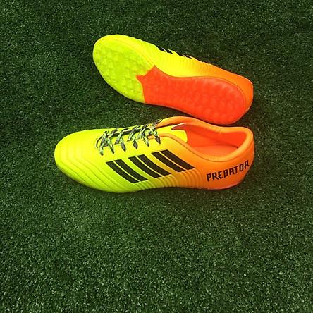 Giày đá bóng nam sân cỏ nhân tạo - 9999 màu cam chuối