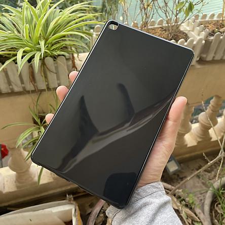 Ốp dẻo cho Samsung Galaxy Tab A8 2019 t295 - dẻo màu đen bóng