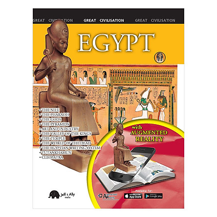 Egypt (Augmented Reality) - Sách 3D