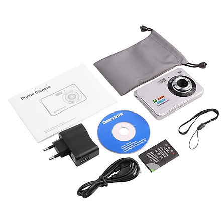 White Hd Digital Camera K09 European Standard