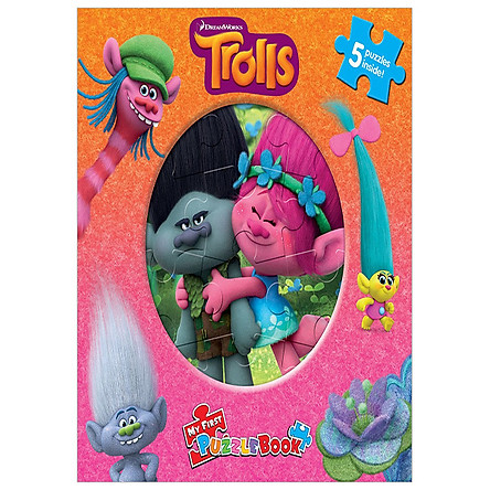 DreamWorks Trolls My First Puzzle Book