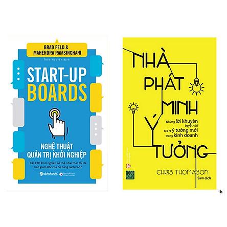 Combo 2 Cuốn: Nghệ Thuật Quản Trị Khởi Nghiệp + Nhà Phát Minh Ý Tưởng