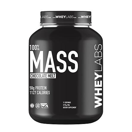 Sữa hỗ trợ tăng cân an toàn Wheylabs Mass hũ 7lbs (3.1kg)