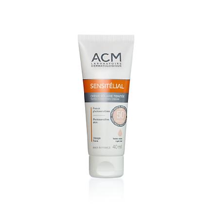 Kem chống nắng che khuyết điểm cho da nhạy cảm Sensitelial Light tint Mineral Cream SPF 50+ 40ml