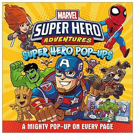 Marvel - Super Hero Adventures: Super Hero Pop-ups (Cased Pop-up Marvel)