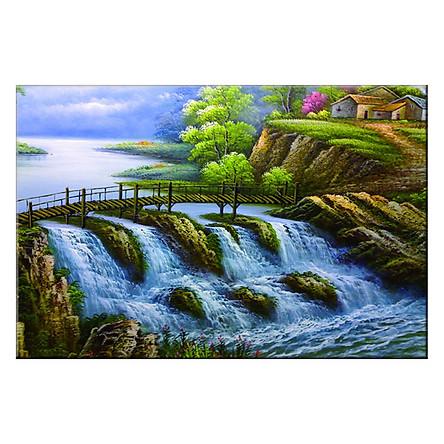 Tranh Canvas Thế Giới Tranh Đẹp Scenery-110