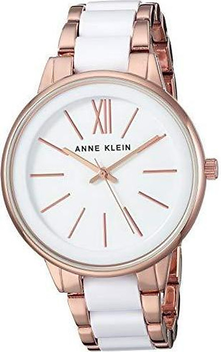 Đồng hồ nữ Anne Klein Women's Resin Bracelet Dress Watch - Pink/Gold