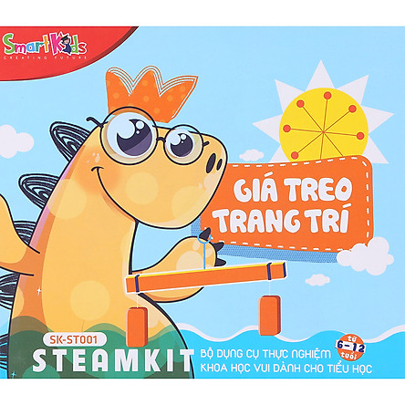 Bộ Dụng Cụ Thực Hành Khoa Học Vui Steam Kit SMARTKIDS - SK-ST001: Giá Treo Trang Trí