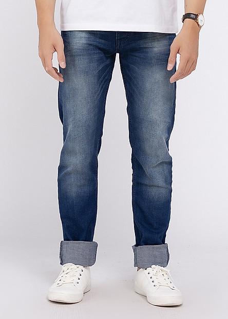 Quần Jeans Skinny Nam A91 JEANS Thời Trang 170 MSKBS170ME - Xanh Denim