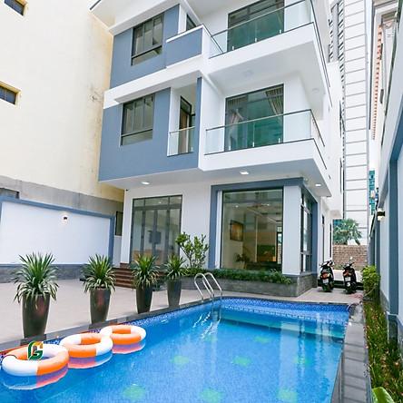 Don Luxury Villa Vũng Tàu - 08 Phòng Ngủ Dành Cho 20 Người, Hồ Bơi, Bếp Nấu, Lò Nướng BBQ, Gần Biển Bãi Sau