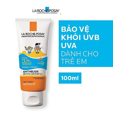 Kem Chống Nắng Dạng Sữa Cho Trẻ Em La Roche Posay Anthelios Dermo Kid SPF 50+ UVB & UVA 100ml
