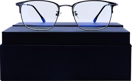 Kính không độ unisex chống UV400, ánh sáng xanh UV101910-C4