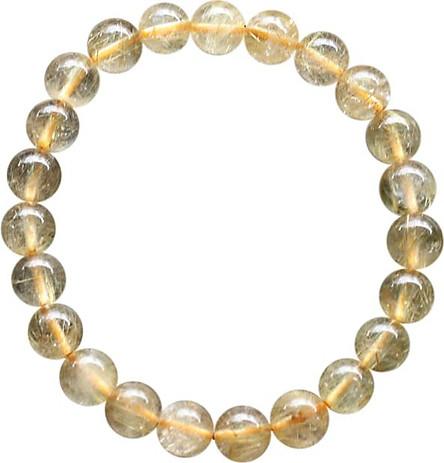 Vòng Thạch Anh Tóc Vàng Trong Myanmar Ngọc Quý Gemstones