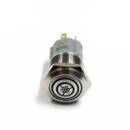 Công tắc nguồn phụ gắn xe máy có đèn led 12V - mẫu ngẫu nhiên