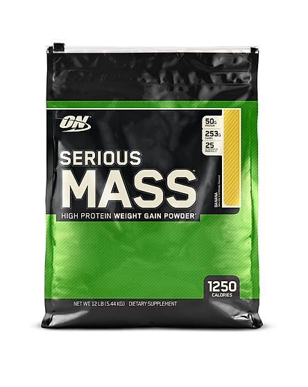 Thực phẩm bổ sung Optimum Nutrition Serious Mass 12lb (5.4kg)