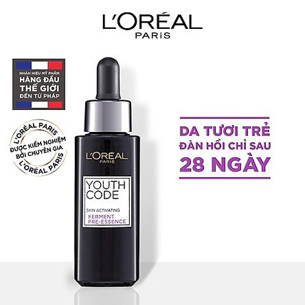 Hoạt chất dưỡng da tươi trẻ L'Oréal Youth Code Pre- Essence 30ml
