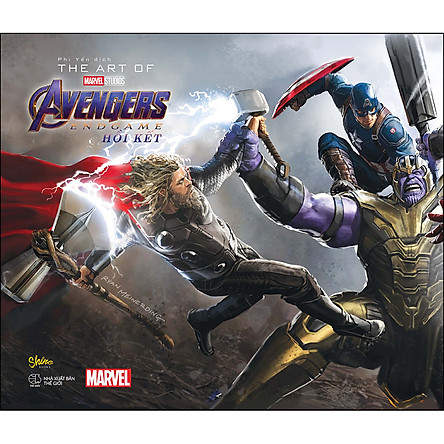 The Art Of Marvel Studios Avengers Endgame (Hồi Kết)