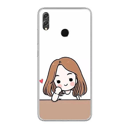 Ốp lưng dẻo cho điện thoại Huawei Honor 8X - 0394 COUPLEGIRL03 - Hàng Chính Hãng