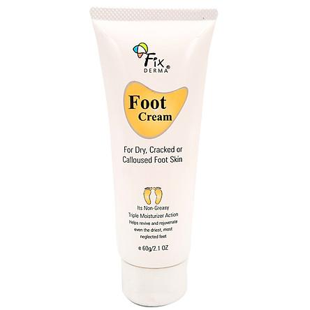 Kem Dưỡng Mềm Mịn, Chống Nứt Nẻ Gót Chân Fixderma Foot Cream - 60gr