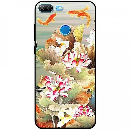 Ốp lưng dành cho Honor 9 Lite mẫu Hoa sen cá