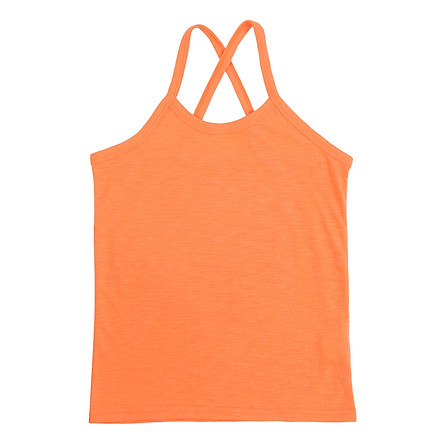 Áo 2 Dây Trẻ Em Nữ Hàn Quốc Orange Factory SELICAP01