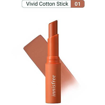 Son Thỏi Lâu Trôi Innisfree Vivid Cotton Stick 2g