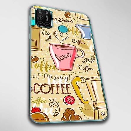 Ốp lưng dành cho Vsmart Joy 4 mẫu Love Café