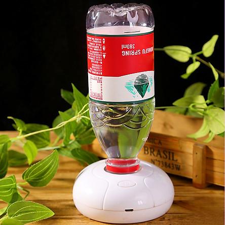 Máy phun sương tạo ẩm không khí siêu âm 3 chế độ Mini USB Di động, dùng chai nước siêu tiện lợi