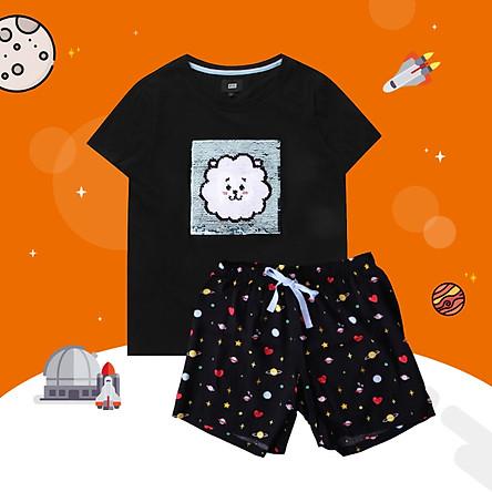 BT21 x HUNT Spangle Pajama Set Rj HILO91101T