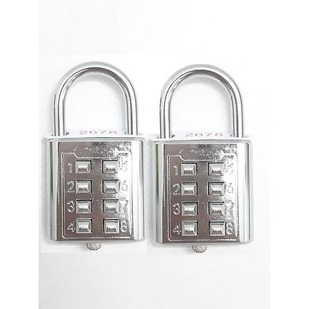 Combo 2 ổ khóa mã số 10 số 5 mã sử dụng tiện lợi và dễ dàng