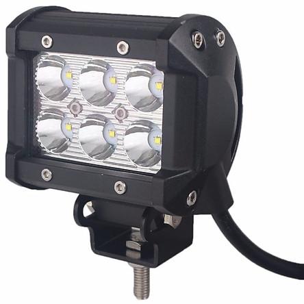 Đèn LED trợ sáng C6 cho xe máy đi phượt