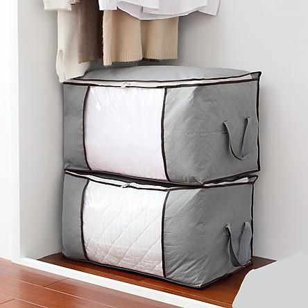 Combo 2 túi đựng chăn gối quần áo