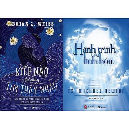 Combo hai cuốn sách: Hành trình của linh hồn + Kiếp nào ta cũng tìm thấy nhau
