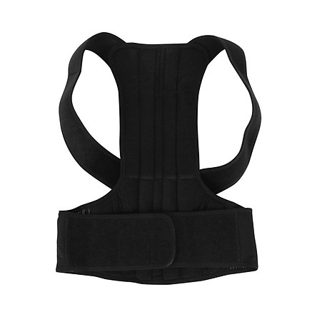 Adjustable Posture Corrector Back Support Brace Belt Back Posture Corrector Back Shoulder Lumbar Brace Posture Correction For Men Women S Size xxl