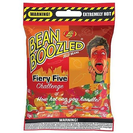 Kẹo thối Bean Boozled phiên bản siêu cay Fiery Five gói 54gr