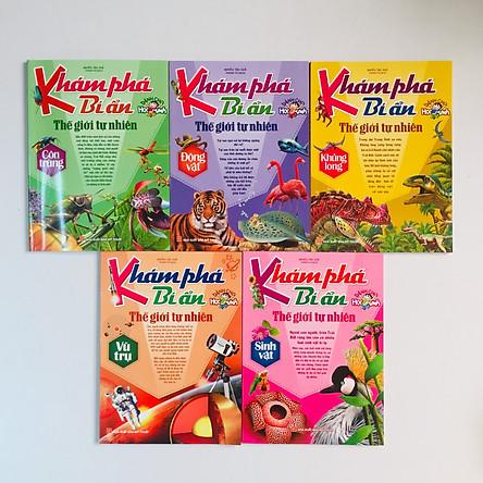 Khám Phá Bí Ẩn Thế Giới Tự Nhiên Dành Cho Học Sinh – Boxset 5 cuốn
