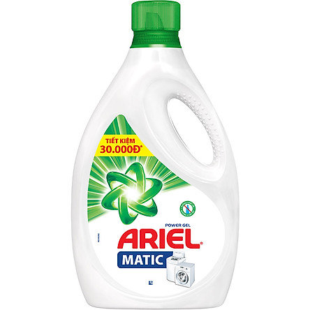 Nước Giặt Ariel Dạng Chai (2.4Kg)