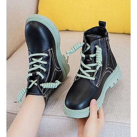 Giày bốt bé gái Phong Cách Hàn Quốc HQ38