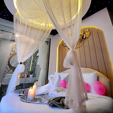 Voucher combo du lịch hạng phòng Suite 4 ngày 3 đêm tại Alpha Bird Hotel Nha Trang