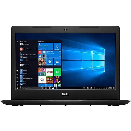 Laptop Dell Inspiron 3493 3464BLK (Core i5-1035G4/ 4GB 2666Mhz/ 128GB SSD/ 14 HD/ Win10) - Hàng Nhập Khẩu