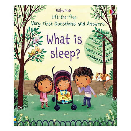 Usborne Lift-The-Flap Very First Questions And Answers: What Is Sleep?