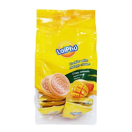 Bánh Cookie Lai Phú Kem Xoài 350g