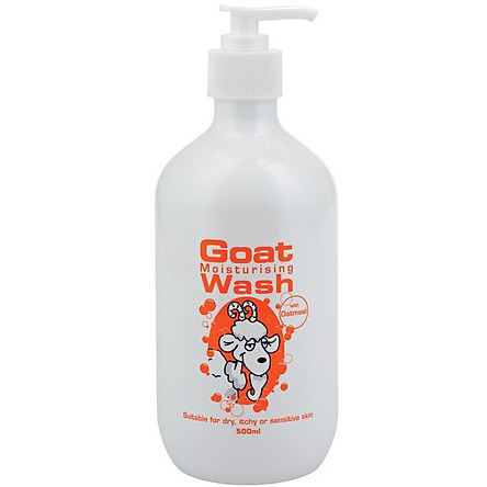 Goat Body Wash With Oatmeal 500ml
