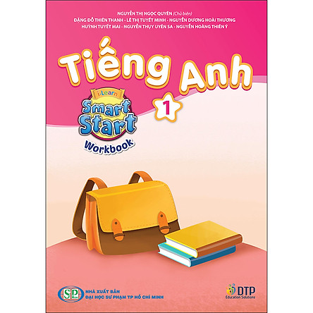 Sách Tiếng Anh i-Learn Smart Start Level 01 (Workbook)