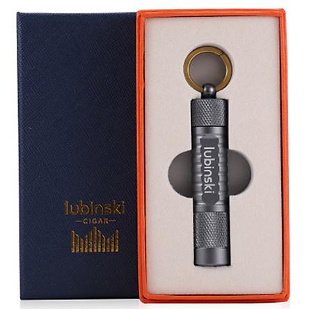 Đầu Đục Xì Gà Có Móc Treo Chìa Khóa Lubinski - Phụ Kiện Xì Gà Tăm và Đục Xì Gà - Quà Biếu Tặng Sếp Cao Cấp
