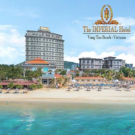 The Imperial Hotel 5* Vũng Tàu - Buffet Sáng, Hồ Bơi, Đối Diện Biển Bãi Sau, Có Xe Đưa Đón Từ Sài Gòn Trong Tuần