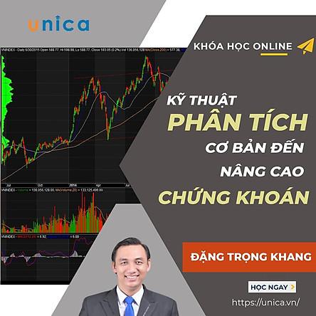 Khóa học KINH DOANH - Phân tích kỹ thuật Căn bản đến Nâng cao trong đầu tư chứng khoán UNICA.VN