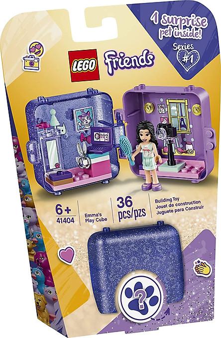 Đồ Chơi Lắp Ghép LEGO Friends Hộp Phụ Kiện Đồ Chơi Của Emma 41404LG (36 Chi Tiết)